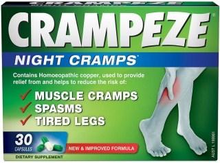 Natralia Crampeze Night Cramps 30 Capsules