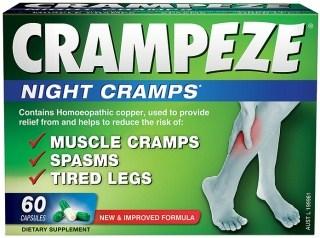 Natralia Crampeze Night Cramps 60 Capsules