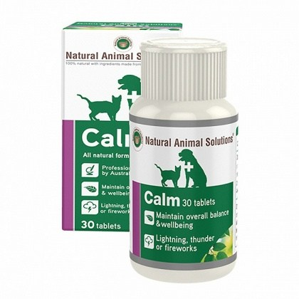 Natural Animal Solutions Calm 30 tabs SEP21