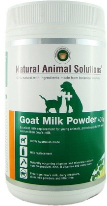 Natural Animal Solutions Goat Milk Powder 400g
