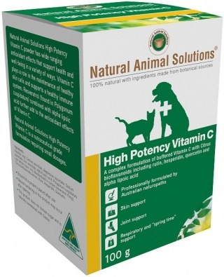 Natural Animal Solutions High Potency VitC 100g