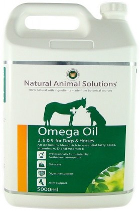 Natural Animal Solutions Omega Oil Dogs/Horse 5L JAN21