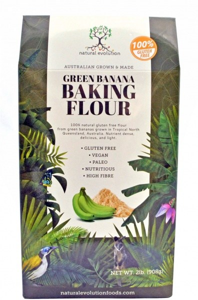 Natural Evolution Banana Flour  908g