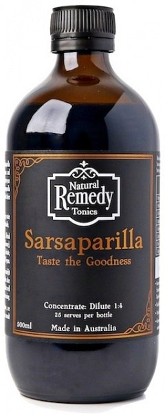 Natural Remedy Tonics Sarsaparilla  500ml