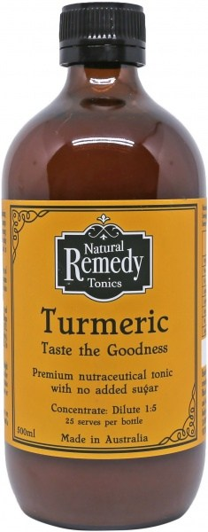 Natural Remedy Tonics Turmeric  500ml