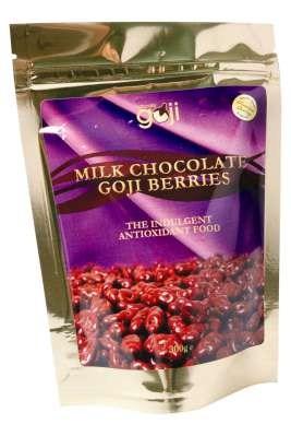 Naturally Goji Milk Chocolate Goji Berries 300gm