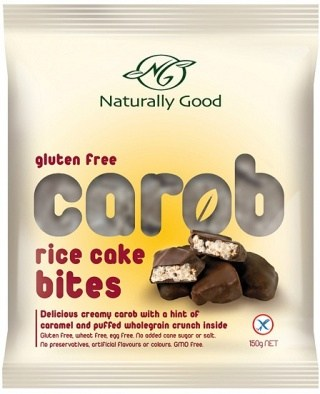 Naturally Good Carob Rice Bite   150gm