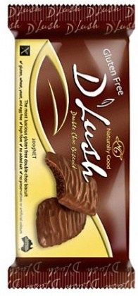 Naturally Good D'Lush Doble Choc Biscuits  150g