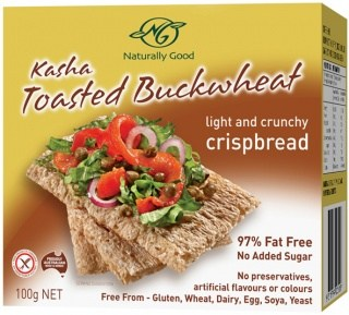 Naturally Good Kasha Buckwheat Crispbreads 100g