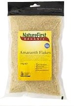 Nature First Amaranth Flakes Rolled Organic 375g