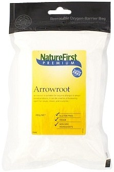 Nature First Arrowroot Aluminium Free 250g
