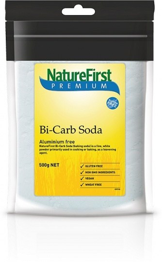 Nature First Bicarb Soda (Aluminium Free)  500g