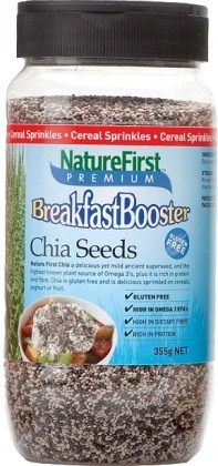 Nature First Breakfast Booster Chia Shaker 355g