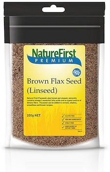 Nature First Brown Flaxseed Linseed 300g