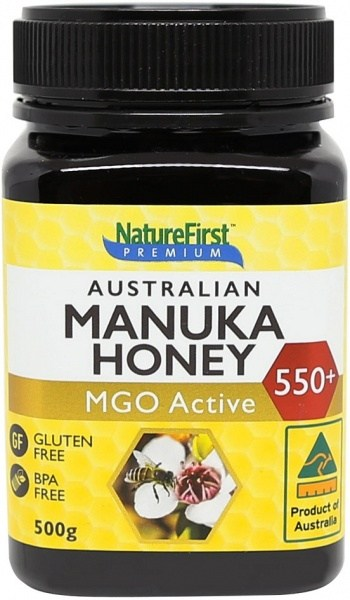 Nature First Honey Manuka (AU) MGO Active 550+ 500g