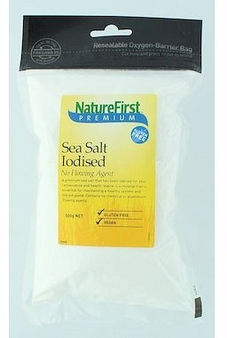 Nature First Iodised Sea Salt - No Flowing Agent 500g
