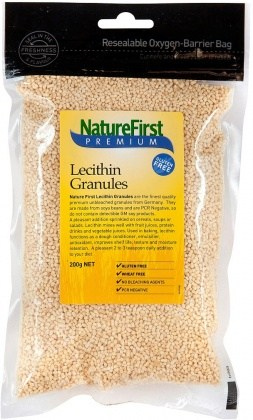 Nature First Lecithin Granules Unbleached 200gm