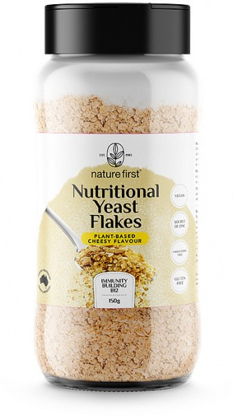 Nature First Nutitional Yeast Flakes - Based Cheesy Flavour Shaker 150g