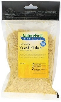 Nature First Nutritional Yeast Flakes Plant- Based Cheesy Flavour 100g