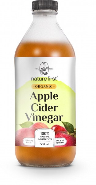 Nature First Organic Apple Cider Vinegar 500ml