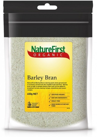 Nature First Organic Barley Bran 450g