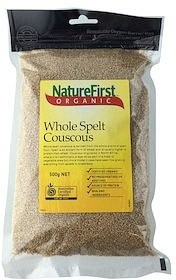 Nature First Organic Cous Cous Whole Spelt 500g