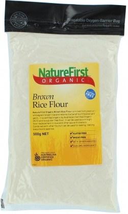 Nature First Organic Flour Brown Rice 500gm