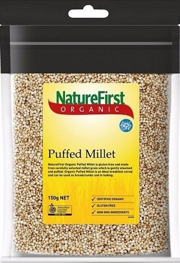 Nature First Organic  Puffed Millet 150g