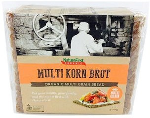 Nature First Organic Long Life Multigrain Bread 500g