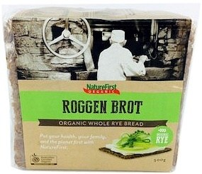 Nature First Organic Long Life Rye Bread 500g