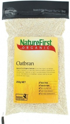 Nature First Organic Oat Bran 250gm