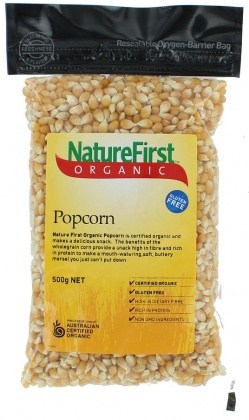Nature First Organic Popcorn 500gm
