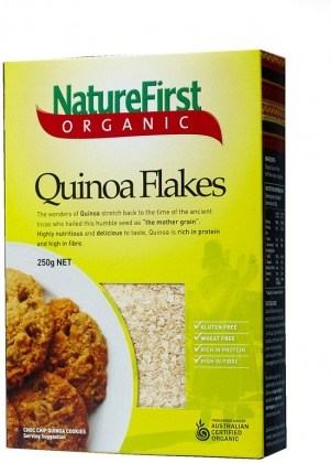 Nature First Organic Quinoa Flakes Box 250g