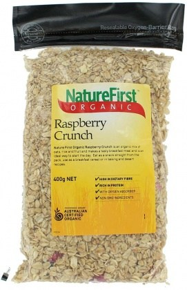 Nature First Organic Raspberry Crunch 400gm