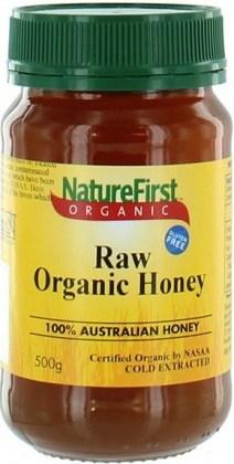 Nature First Organic Raw Honey 500gm