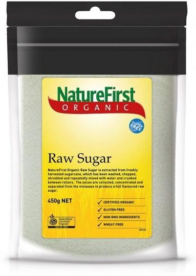 Nature First Organic Raw Sugar 450g