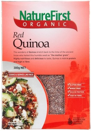 Nature First Organic Red Quinoa 300g