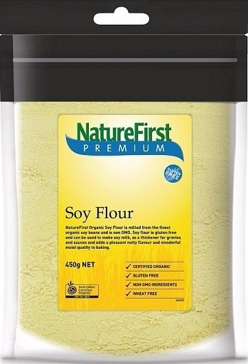 Nature First Organic Soy Flour 450g