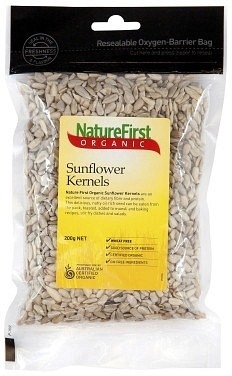 Nature First Organic Sunflower Kernels 200g