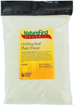 Nature First Organic Unbleached Flour 1Kg