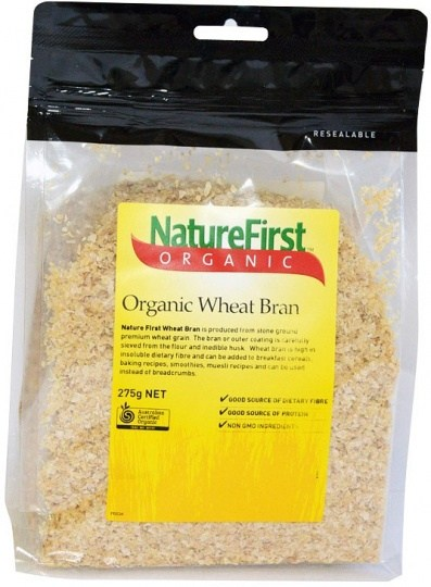Nature First Organic Wheat Bran 275g