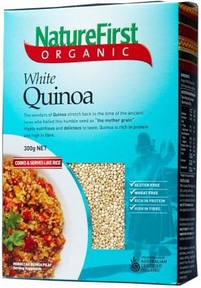Nature First Organic White Quinoa 300g
