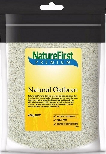 Nature First Premium Natural Oatbran 400gm
