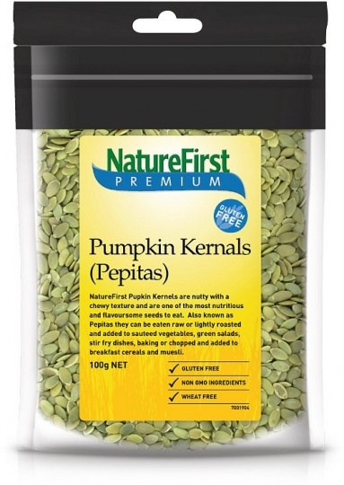 Nature First Pumpkin Kernels (Pepitas) 100g