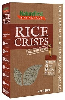 Nature First Rice Crisps Cereal Box  350g