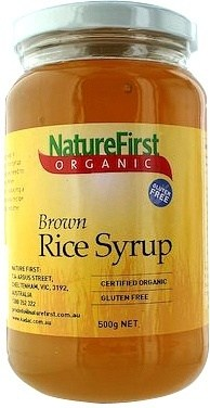 Nature First Rice Syrup Brown Organic 500g