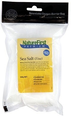 Nature First Sea Salt Fine 500gm
