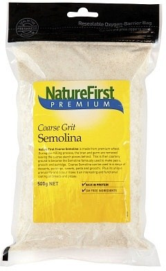 Nature First Semolina Coarse 500gm