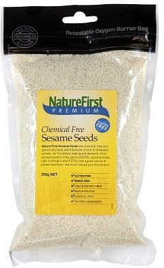 Nature First Sesame Seeds (Chem Free) 250gm
