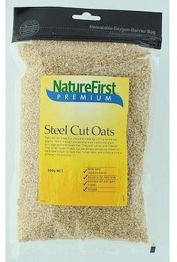 Nature First Steel Cut Oats 500gm